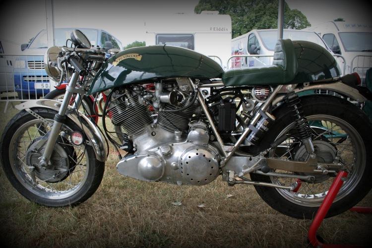 An CTG-Vincent built by Cyril Malem.
