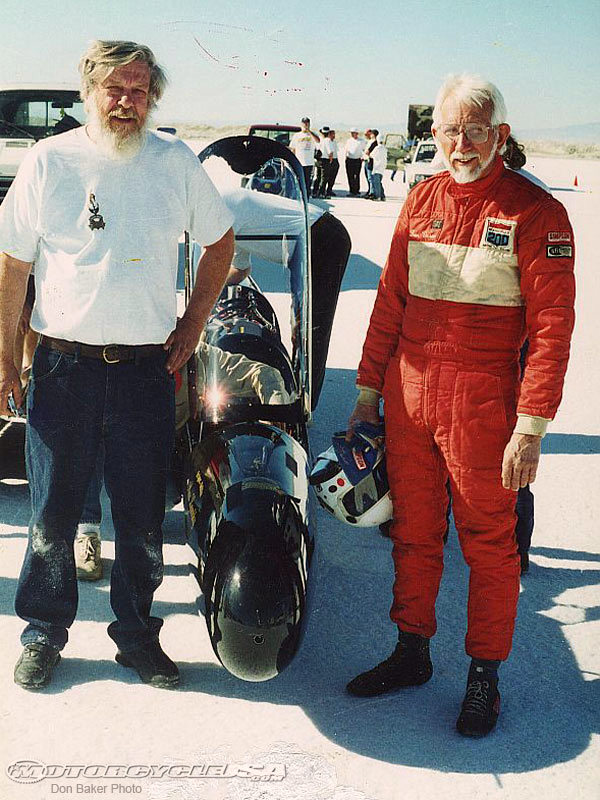 Max Lambky and Don Vesco in 1996 Don Baker Photo