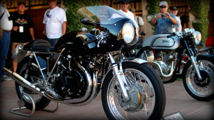 Godet 998 Cafe Racer with half fairing