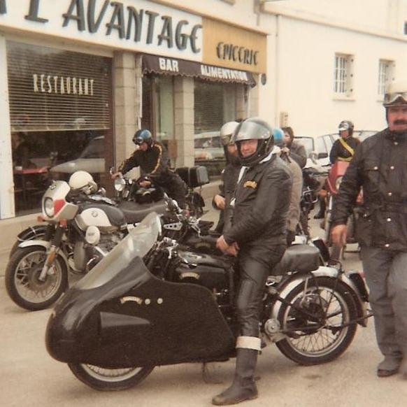 This picture was taken at the VOC Rally in 1983 at Quimper (France). Document Dominique Le Bris