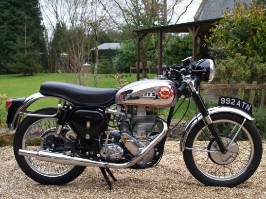 Inspiration: an original BSA 500 Gold Star DBD34GS