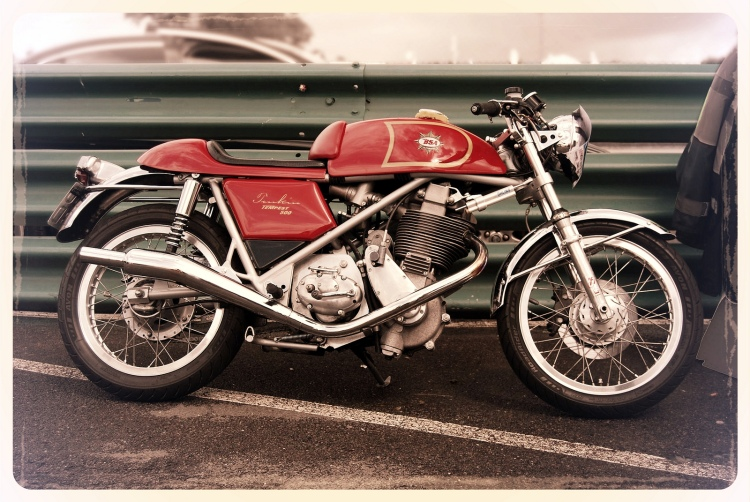 Recreation: Tonkin Tempest with a 500 or 600 cc DBD34GS engine in a  Seeley Mk3 Replica rolling frame.