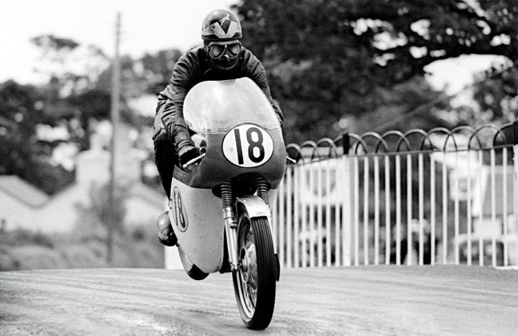 19.The South-African Paddy Driver finished third in 1965 behind the MV Agusta works of Mike Hailwood and Giacomo Agostini.