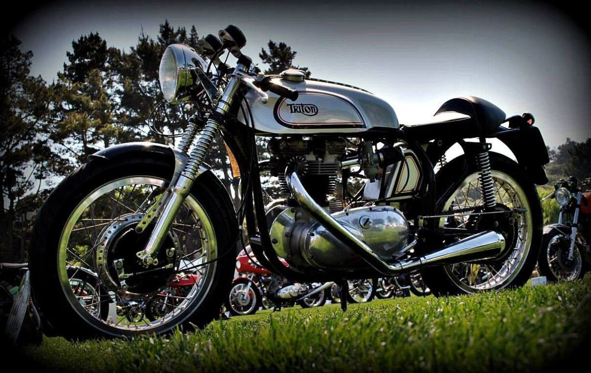 Variations On A Featherbed The Egli Vincent