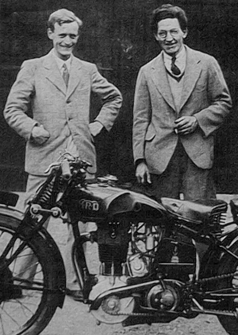 I Phil Edward Irving (1903-1992) was the Vincent's Chief Engineer between 1931 and 1937. Irving designed the Series A before joining Velocette in 1937, but he came back to Vincent in 1943 until the factory closed. Irving is seen as one of the most brilliant engineer of his generation and the father of the Vincent design for the Series A to D; his life was devoted to his passion for Motorcycles and Motor Racing.