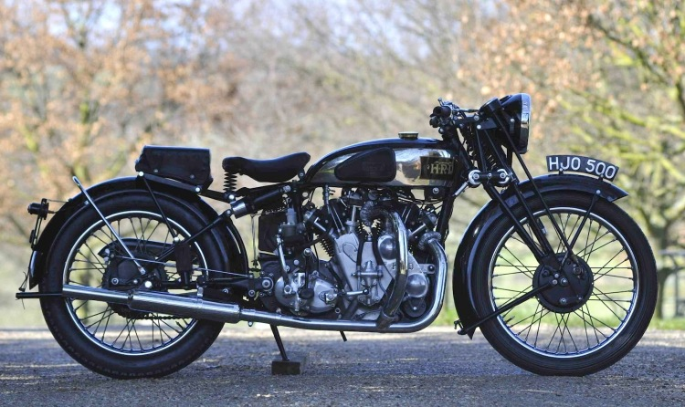 A As a 1000 Rapide Series A. Probably the most desirable model beside exotic Vincent racers; built at 80 units between Jan 1937 and July 1939.