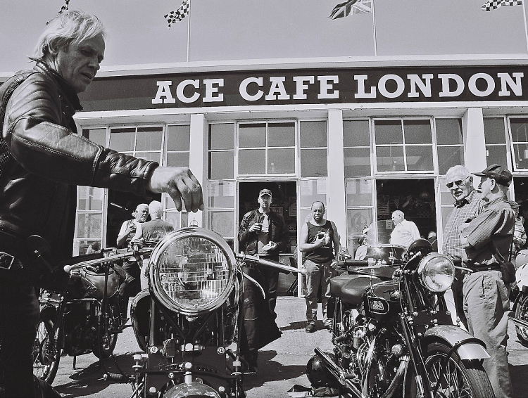 The Brit V's Day which stands for Vincent & Velocette.