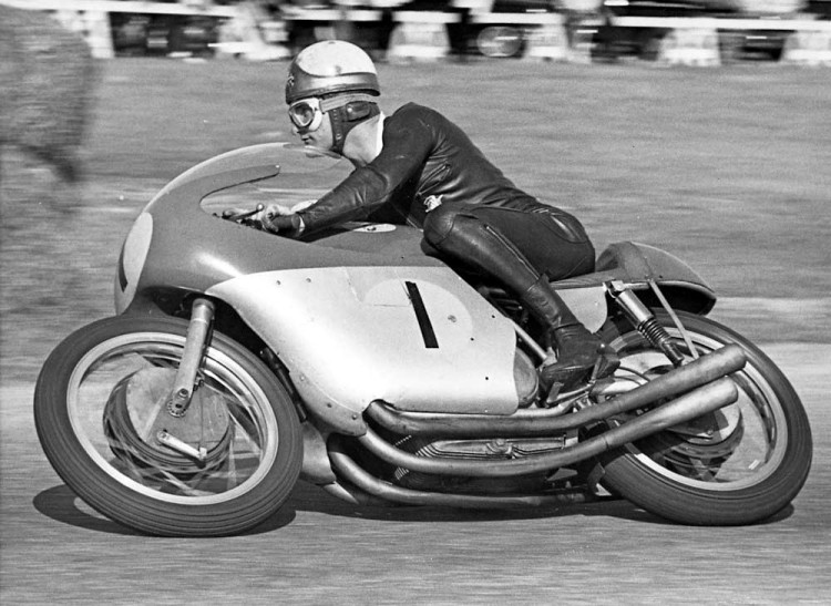 8. Mike Hailwood on the MV Agusta 4