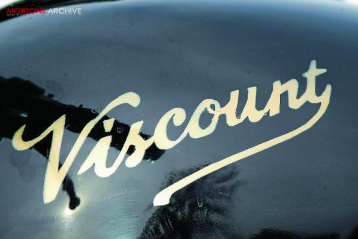 Somerton wanted to move away from the image of the amateur associated to the Norvin, so the Viscount brand was created.