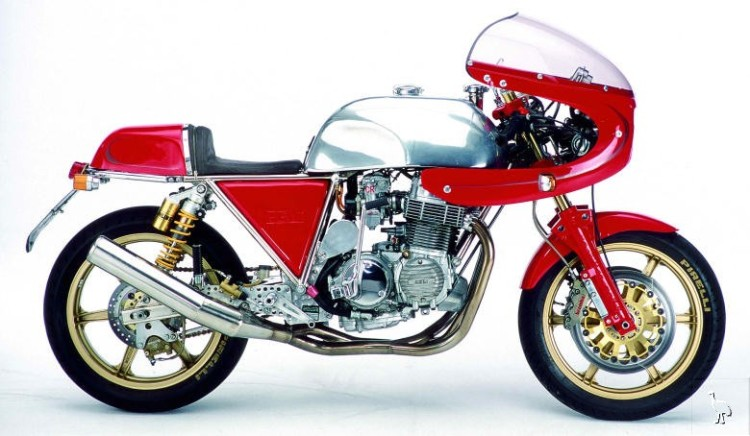 In 45 years, 3,250 bikes were assembled by Fritz Egli. The Honda CB750F was the most popular built . A total of 700 will be manufactured between 70 and 84
