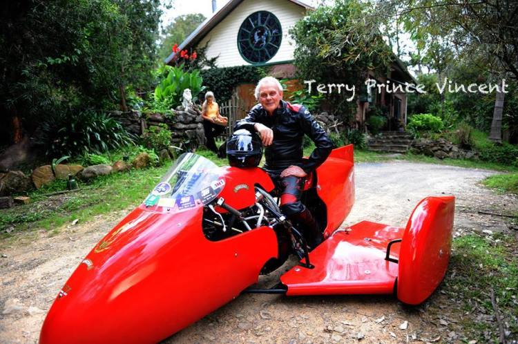 TERRY PRINCE CLASSIC MOTORBIKES Australia (St Albans) Parts, Service and Restoration for Vincent | TPV frames Address: 1805 Wollombi Road, St. Albans NSW 2775, Australia Phone: +61 2 4568 2208 (Own by Terry Prince) Email: clmotorbikes@esat.net.au Website: www.classicmotorbikes.com.au