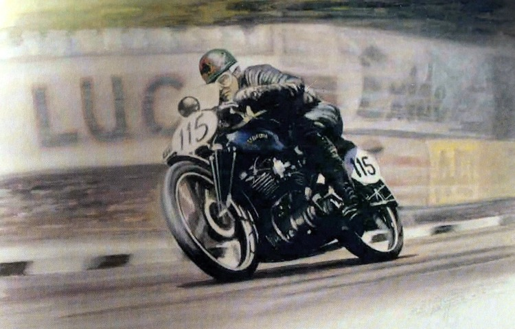 A Black Shadow at the TT
