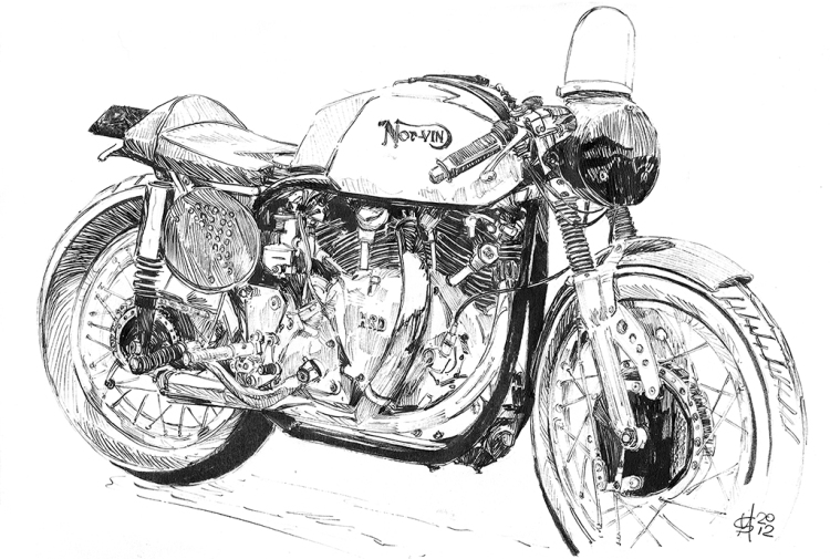 A Beautiful Norvin Racer