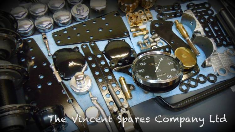 THE VINCENT SPARES COMPANY LTD UK (East Kettering) Genuine Parts for Vincent Address: Unit 3a Robinson Way, Telford Way Ind. Est-Kettering, Northants NN16 8PT, UK Phone: (0044) (0) 1536 312220 Email: orders@vincentspares.co.uk Website: www.vincentspares.co.uk