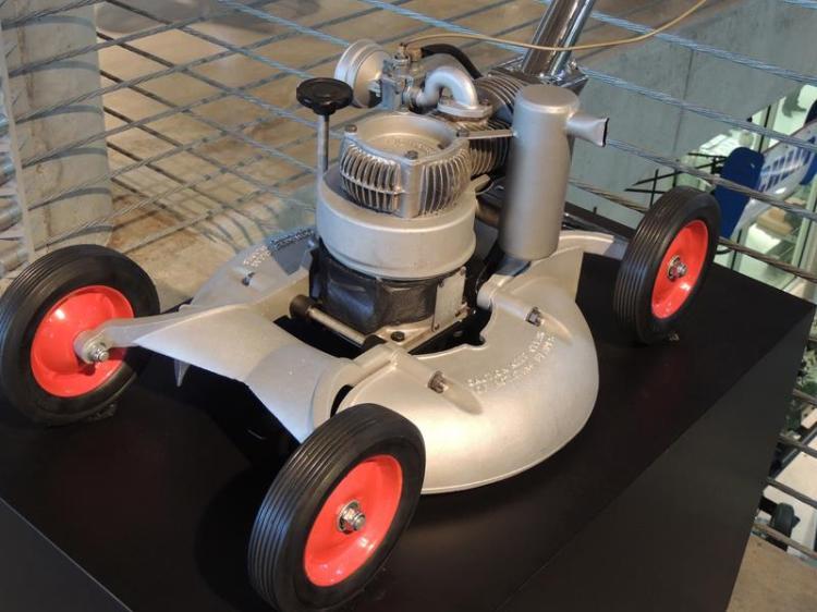 A lawn mower?... oh please !