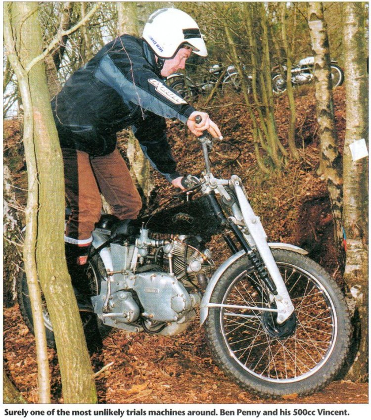 A Trial bike