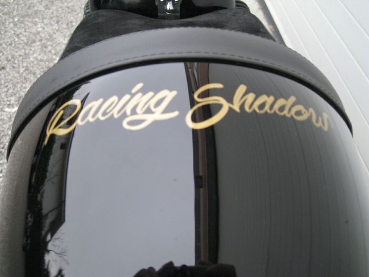 Racing Shadow, a pretty and well made bike.
