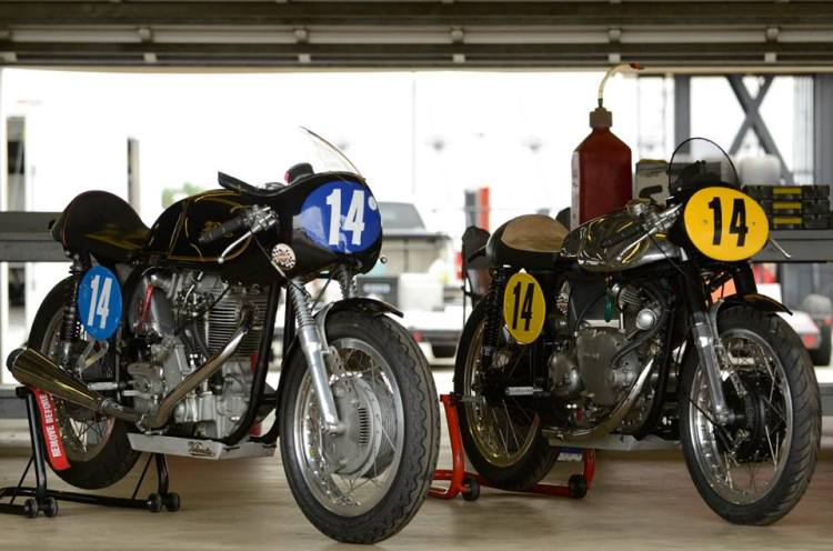 The same bikes side by side: Norcette or Norvin, which one do you prefer?