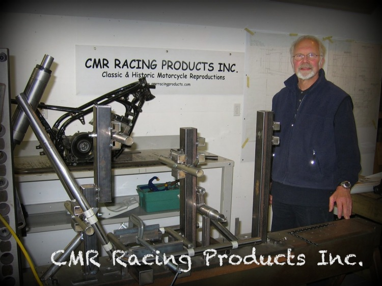 CMR Racing Products Inc. Canada (Ontario) Complete rolling frame and street or raving Vincent Address: 11 Janlyn Cres, Belleville, Ontario, Canada, K8N 5R4 Phone: (613) 921-9078 (Own by Denis Curtis) Email: cmrracingproducts@gmail.com Website: http://www.curtisracingframes.com