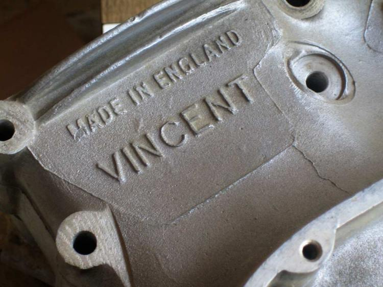 One of the characteristics of Gunga Din is that the latest crankcases were Die-Cast type (Series D) with no identification numbers.