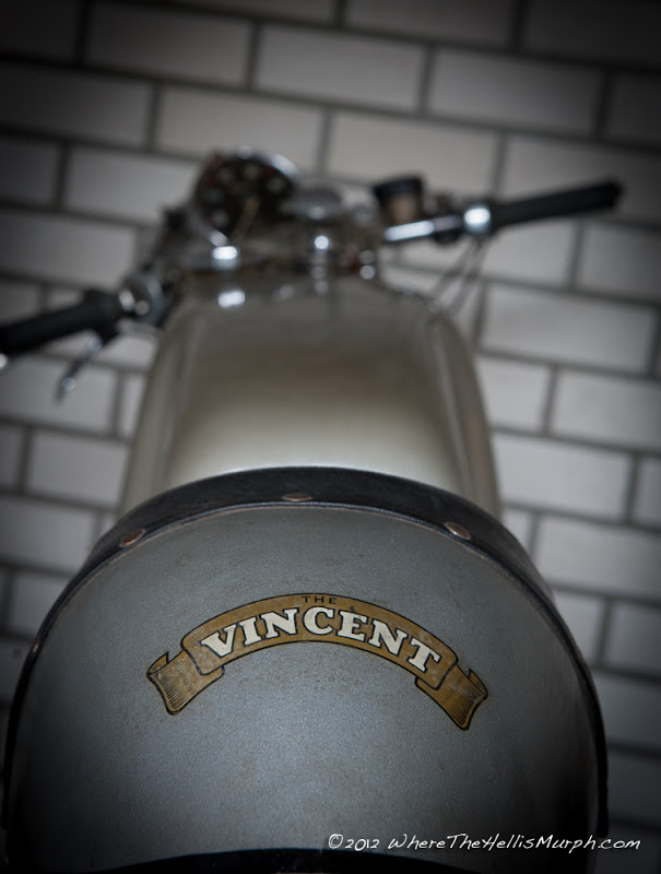 From the early sixties many workshops works on the Vincent base to develop Café Racers but very few really tried to transform it in a sustainable business. Eventually all figured out that the main hurdle was the lack of donor bikes. © wherethehellismurph.com