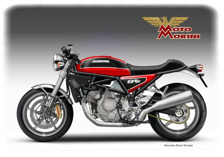 Moto Morini 9 1/2 Sport, remember the 350? © Oberdan Bezzi