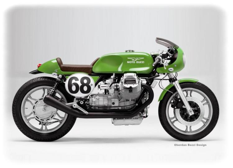 A Moto Guzzi as we would like to see from the factory...© Oberdan Bezzi