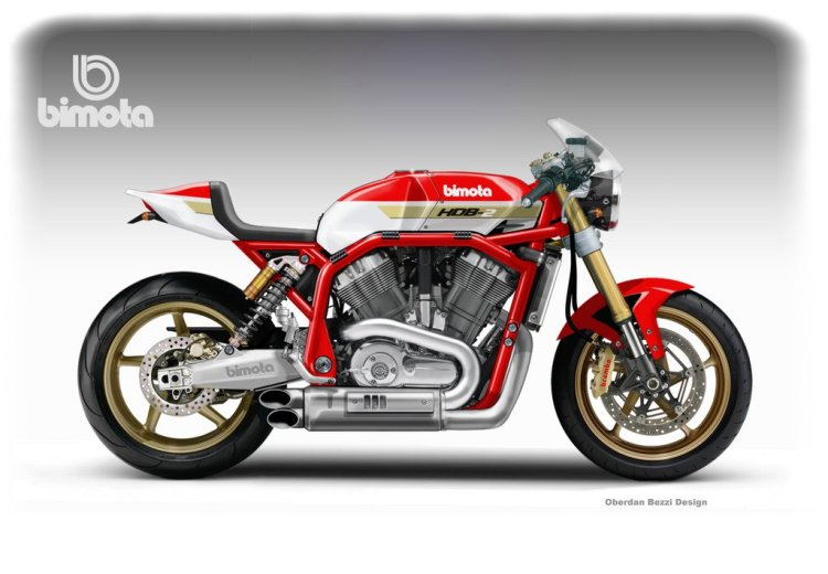 Bimota Harley V-Rod © Oberdan Bezzi