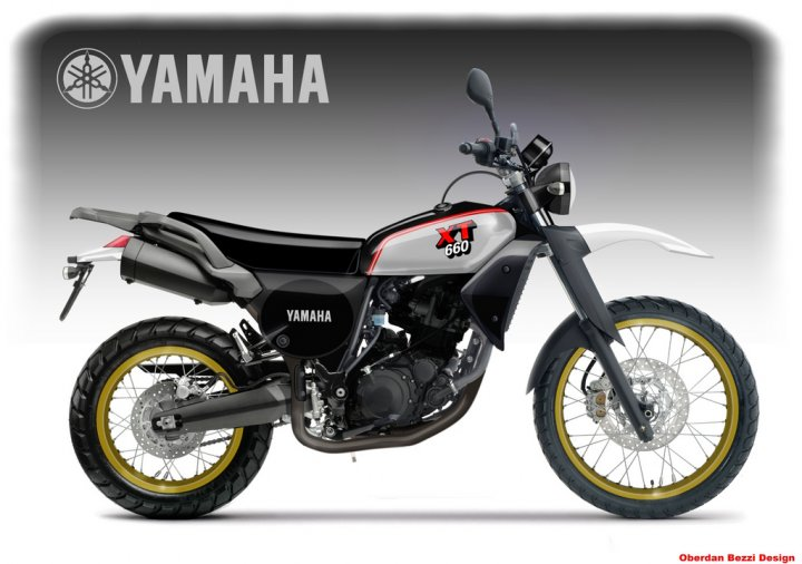 Yamaha 660 XT © Oberdan Bezzi