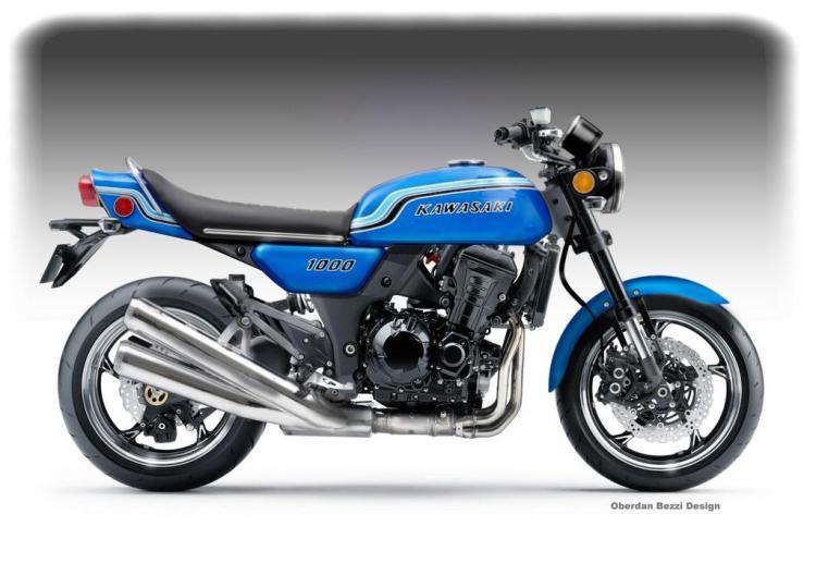 Kawasaki 1000 Mach X Legend © Oberdan Bezzi