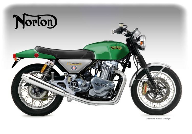 Norton Commando 961 Interstate © Oberdan Bezzi