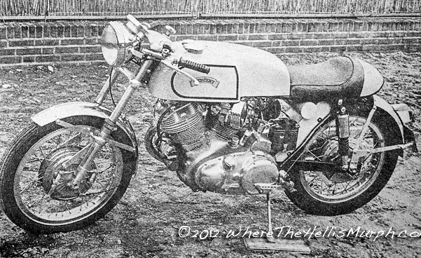 The same bike tested this time by Motor, the Dutch magazine in November 1970 | Picture © wherethehellismurph.com