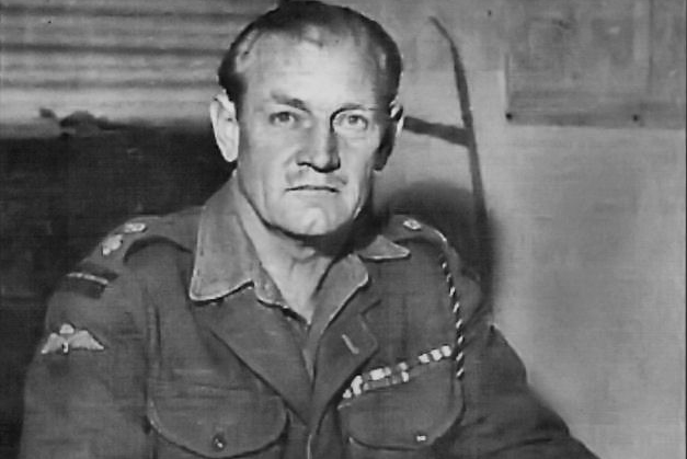 Lt Colonel Churchill (1906-1996) stood out as a hero during WWII, earning two Distinguished Service Orders, and carrying a bullet in his shoulder for 55 years.