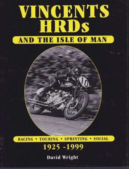 Phillip's Rapide is highlighted on David Wright's cover book. It was one of the seven Vincent, which entered the TT in 1950. Vincent club records confirm ownership by Alex Phillip (Nov.'47) and Jack Churchill (1951)