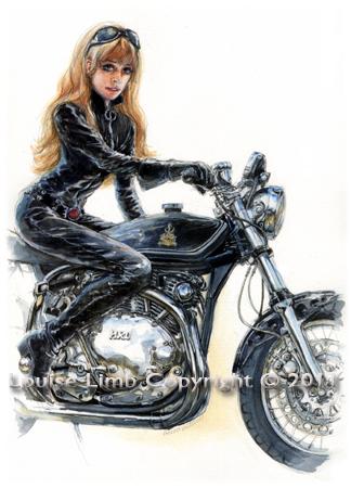 LMarianne rides a Norvin