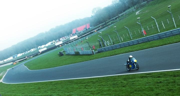 Alex puts the 500 through its first UK paces Photo © David Lancaster