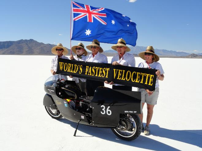 Record Holder 146.351 MPH at Bonneville in 2011 | Picture Stuart Hooper