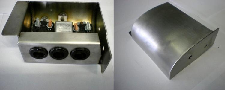The fuse box.