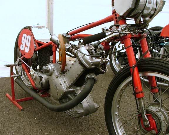"""The first Pegasus was 30 year old 600cc single cylinder Panther engine,. Although not challenging the established stars of the day, ""Long Rod"" as it was christened, did muster a 13sec quarter"" Information TeamPegasus"