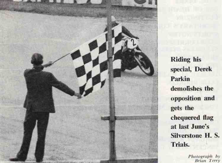 The caption is quite clear, the Parkin was designed to win and delivered the promises. Credit Picture: David Lancaster