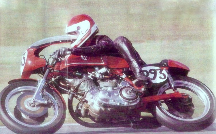 Mike Norris on Mark VII Picture © Classic Racer Winter 1989