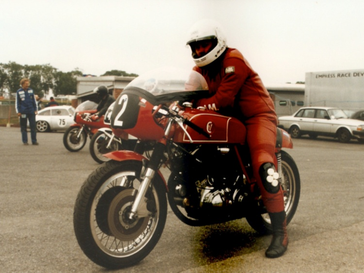 Barry Gooding at Pembrey 1998 Picture © Anne Callagher