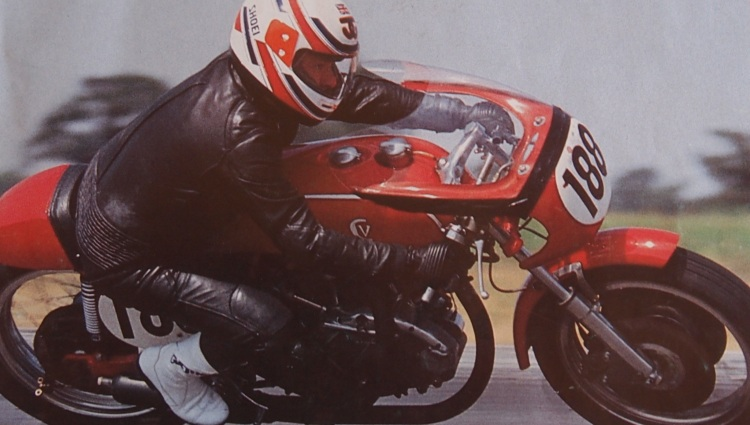 Mike Norris on Mark VII Picture © Classic Racer Winter 1990