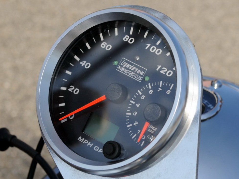Gps Speedometer The Egli Vincent