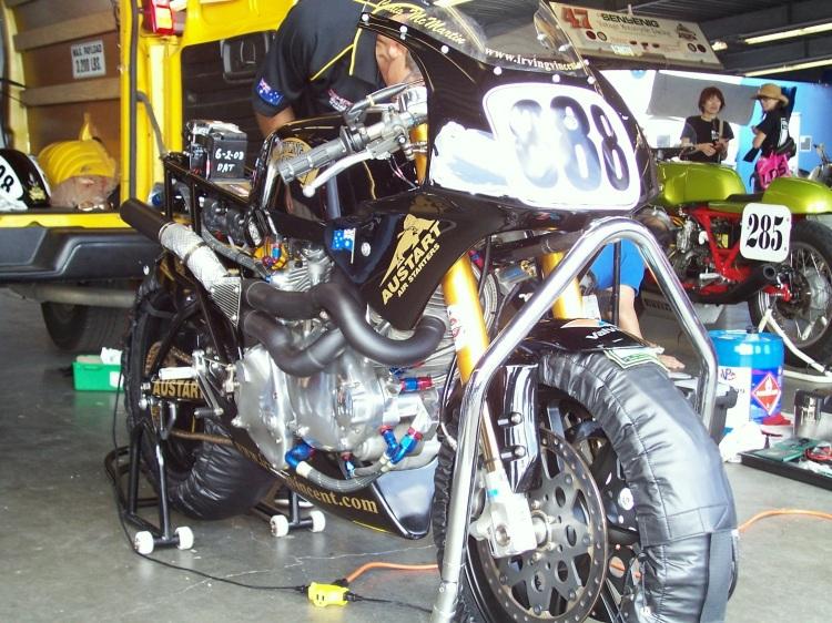 Daytona 2008 Credit photo, David Dunfey