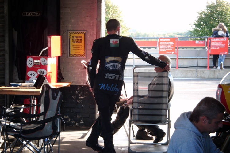 Snetterton, October 11, 2014 Just before the race Photo © Philippe Damico