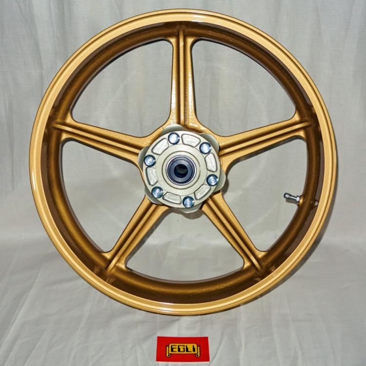 Rear wheel 4.5'' x 18''