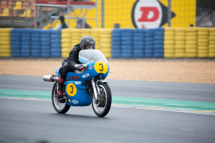 #03, Grey Flash, Egli Vincent, Unissart Lancelot, CAP 500, Year 1968, Cat IHRO1 500, 24 Hours Moto - International Historic Racing Organisation (IHRO)
